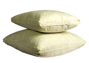 Подушка Бежевая с бортом 50х70, фото 2