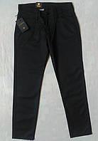 Котоновые брюки на мальчика 7,8,9,10,11 лет 122-146 Турция Черные