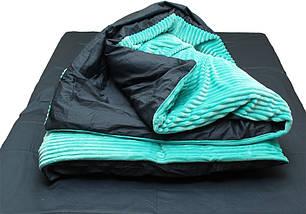 Комплект постельного белья Евро зима-лето Mint, фото 3