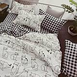 Постельное белье   Комплект постельного белья ( простынь на резинке ) Ткань- Поплин. Размер - Полуторный, фото 2