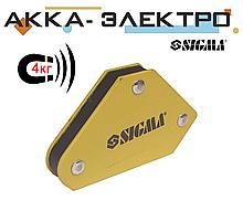 Магнитный держатель для сварки (4кг.) Sigma