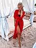 Женская длинная туника для пляжа из шифона