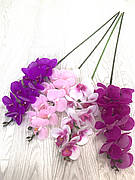 Штучна орхідея.Гілка декоративної орхідеї.Орхідея латексна (95 см)