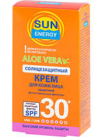 Солнцезащитный крем для лица SPF 30 30 мл Sun Energy арт.2510