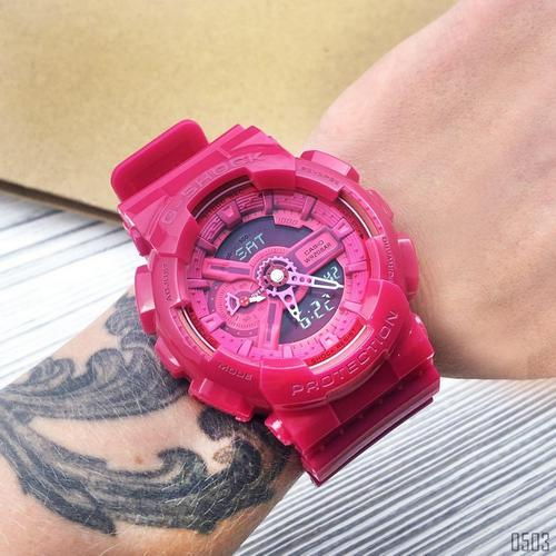 Casio G-Shock AAA GA-110 Red