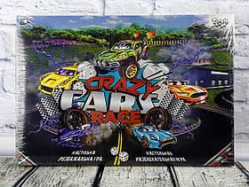"""Гра настільна по ходах """"Crazy Cars Race"""" DTG94R Danko-Toys Україна"""