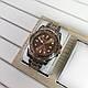 Rolex SMT-Master II Silver-Cuprum-Brown, фото 2