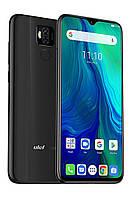 Смартфон улефон черный с хорошим аккумулятором большой емкости и нфс на 2 симки UleFone Power 6 black 4/64 гб
