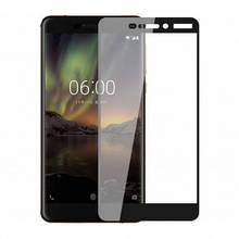 3D Защитное стекло для Nokia 6 TA-1033, Dual Sim TA-1021 черное