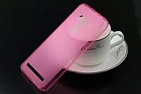 TPU чехол для Asus Zenfone 2 Laser /ZE550KL розовый