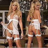 Пеньюар с подвязками, фото 3