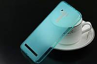 TPU чехол для Asus Zenfone 2 Laser /ZE550KL голубой
