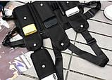 Бронежилет черный HGULBAG нагрудная сумка черная, фото 8