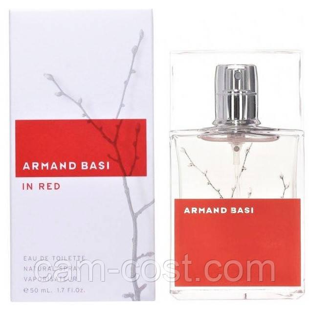 Armand Basi In Red edt 50 ml (ORIGINAL)