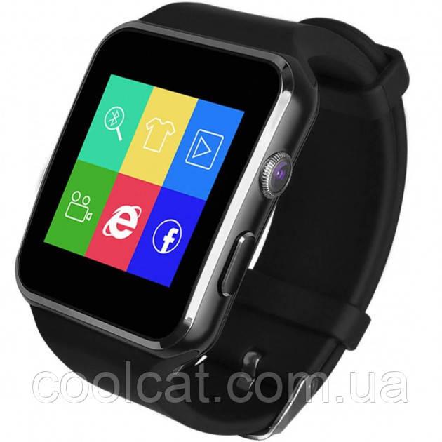 УЦЕНКА! Умные часы-телефон Smart Watch X6 (E6, X6D) (Черные) (273508 274700)