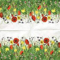 Салфетка для декупажа Полевые цветы 5179