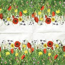 Серветка для декупажу Польові квіти 5179