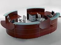 Рецепции,стойки персонала,office reception desk