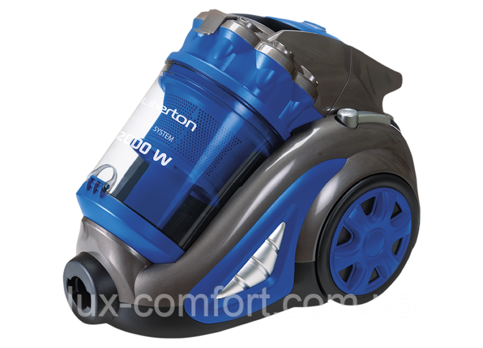 Пилосос Liberton LVC-2050C Blue 5 л, 2000 Вт