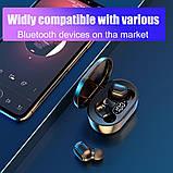 Беспроводные наушники E7S в стиле Xiaomi Redmi Airdots Black, фото 7