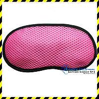 Маска для сна с бамбуковым углем, розовый цвет. ХИТ!