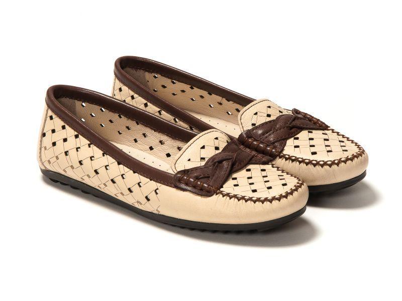 Мокасини Etor 3738-765-1-9243 бежевий+коричневий