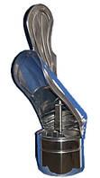 Флюгер дымохода ф 350 из нержавеющей стали