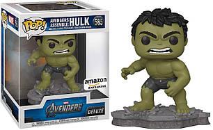 Фигурка Funko Pop Фанко Поп Мстители Халк Эксклюзив Avengers Diorama Deluxe Hulk 15см A H 585
