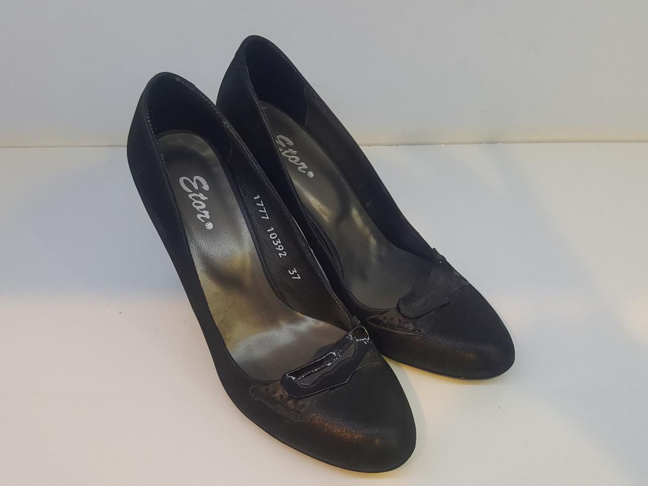 Туфлі Etor 1777 чорні