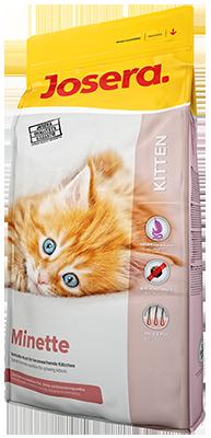 Josera Minette сухой корм для котят, кормящих и беременных кошек 2кг