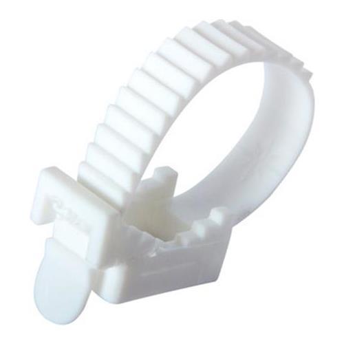 Крепеж ремешковый Apro белый 10х120 мм (50шт)