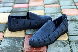 Туфлі Etor 16297-6589-731 сині