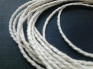 Шпагат для декора 810 текс белый витой
