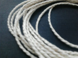 Шпагат для декора 810 текс белый витой, фото 2