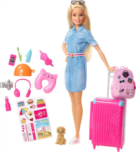 Набор Барби Путешествие Barbie Travel Set