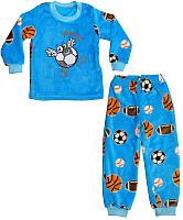 """Комплект-пижама для мальчика """"Мячики"""""""