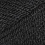Пряжа для вязания Шетланд Чанки чёрный 602
