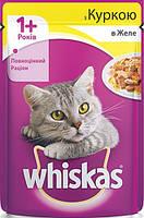 Консерва для кошек с курицей в желе Whiskas