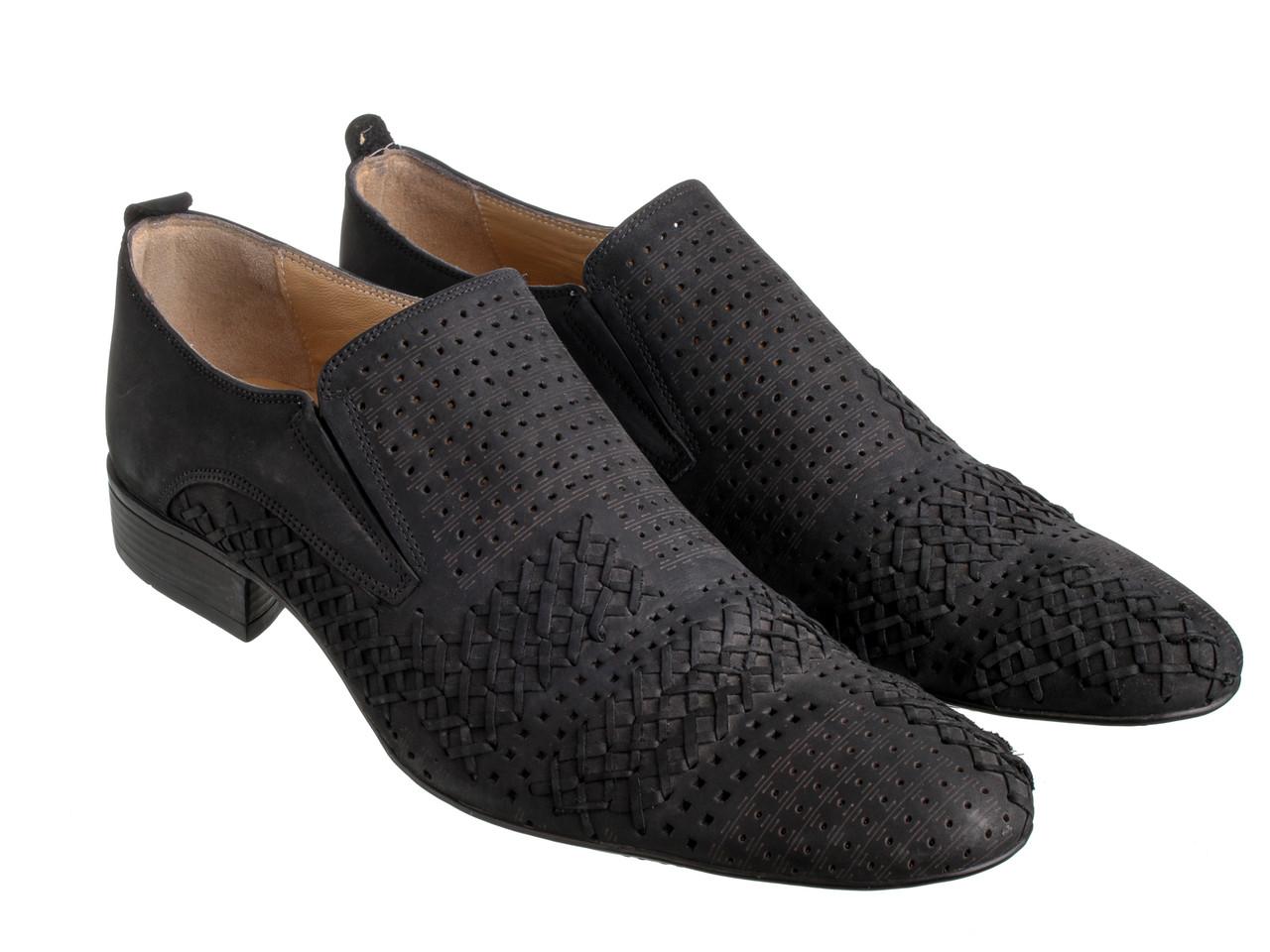 Туфлі Etor 5114-1  чорний