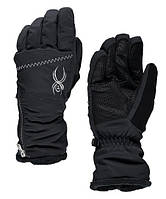 Горнолыжные женские перчатки Spyder COLLECTION SKI GLOVE черный (MD 16)