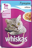 Консерва для кошек с тунцом в желе Whiskas