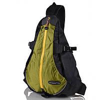 Мужской рюкзак-гитара ONEPOLAR (ВАНПОЛАР) W1305-green