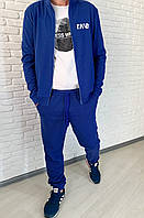 Стильный осенний мужской спортивный костюм из структурного трикотажа (р.46-52).  Арт-1607/47, фото 1