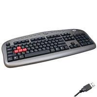 Клавиатура A4-tech KB-28 Game master (KB-28G-USB)