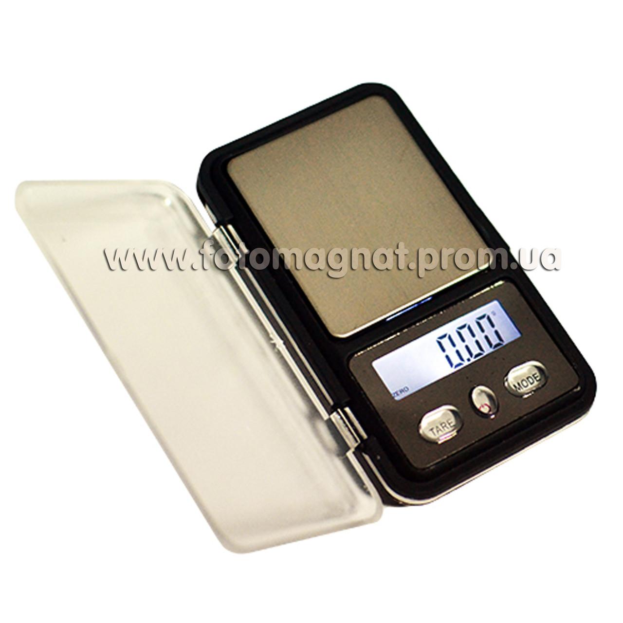 Весы ювелирные  6210PA/МН-333/Mini2  100/200г  (карманные весы)