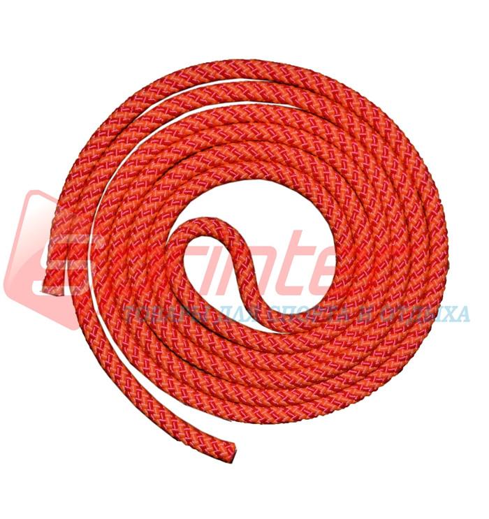 Скакалка гимнастическая.Цвет:красно-оранжевый.