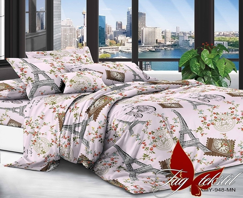Комплект постельного белья семейный XHY948