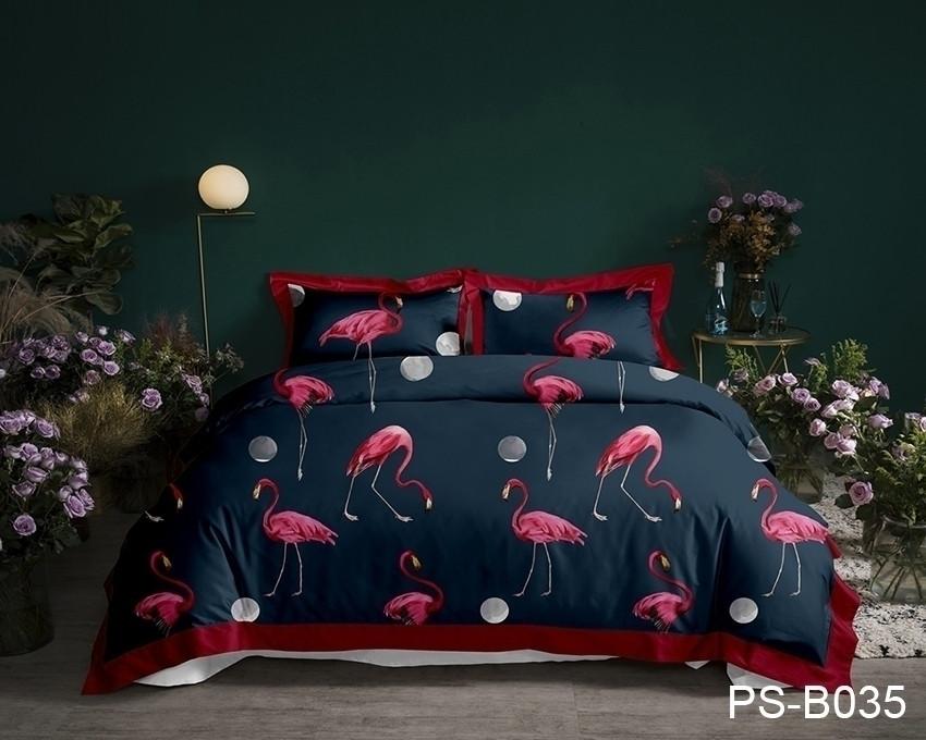Комплект постельного белья семейный PS-B035