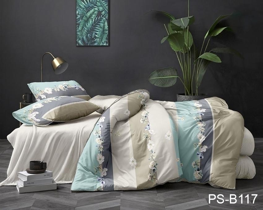 Комплект постельного белья семейный PS-B117