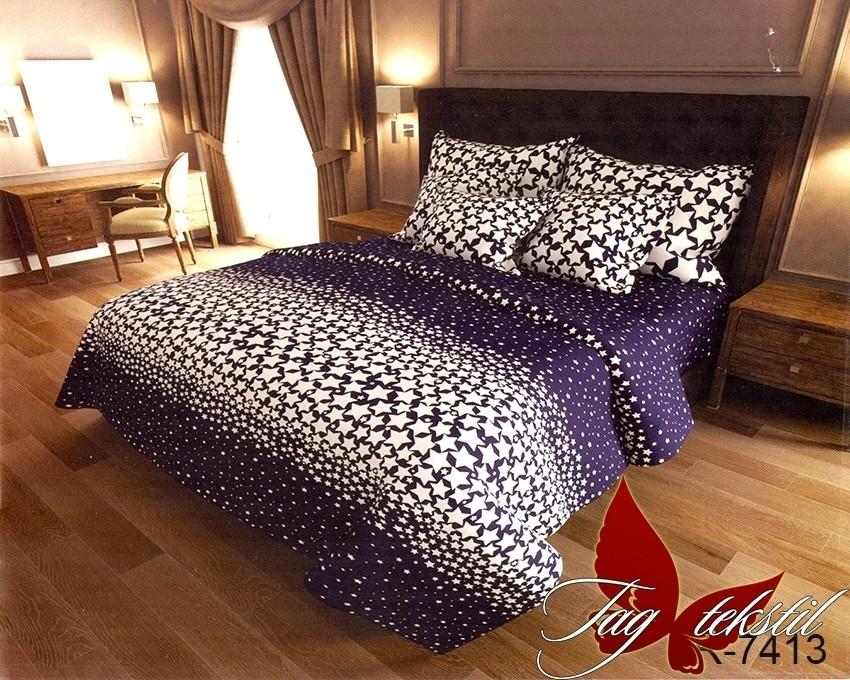 Комплект постельного белья семейный с компаньоном R7413